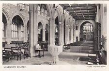 LAVENHAM(Suffolk) : Lavenham Church interior RP-BURN