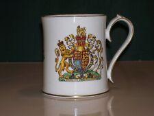 AYNSLEY  Queen Elizabeth II. 70th Birthday Mug in Original Box. *GREAT DETAIL*