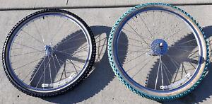 Pair/Set of Used Mavic 236 26-inch mountain bike wheels, MTB 26 wheelset