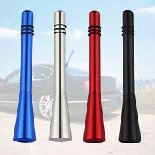 Car Auto Short Stubby Antenna Aerial AM/FM Radio Mast+2 Styles Screw Accessories