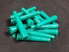 1000 x m6 m8 m10 tappo tappo di gomma in silicone 5.0 -10.0 x 48 verde verniciatura a polvere