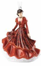 New Royal Doulton Joy To The World Red Christmas Tree Ornament - Nib - Hn5865
