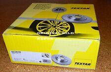 2 x TEXTAR 92125100 Bremsscheiben Hinterachse HONDA CIVIC VII (Paar)