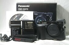 Panasonic LUMIX DMC-GX7 16.0MP Digital Camera Black SN802633 from Japan *Boxed*