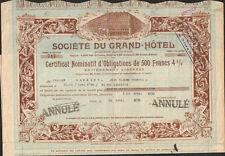 DECO => Société du GRAND HOTEL (R)