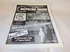 DEPECHE MODE - Publicité de magazine / Advert MASTER & SERVANT !!!!!!!