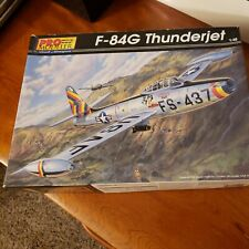 Revell Pro-Modeler 1/48 Republic F-84G Thunderjet. Korean war era fighter bomber
