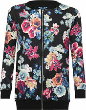 Polyester Zip Coats & Jackets Plus Size for Women