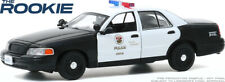 GREENLIGHT 86586 1/43 THE ROOKIE 2008 FORD CROWN VICTORIA INTERCEPTOR LAPD