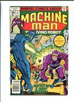 Machine Man 4 VF/NM (1978) Steve Ditko Marvel Comics CBX1N