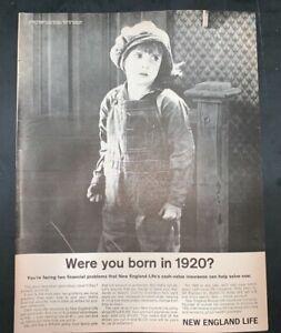 Life Magazine Ad NEW ENGLAND LIFE 1962 AD