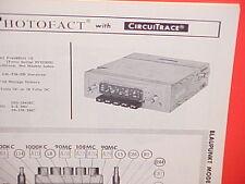 1964 1965 BLAUPUNKT CAR SHORT WAVE AM-FM RADIO SERVICE MANUAL MODEL FRANKFURT US