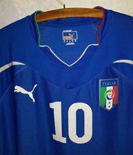 Maglia calcio Nazionale Italia indossata under 21 numero 10