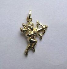 Collares y colgantes de joyería de oro amarillo oro, de amor y corazones