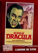 BRITISH HORROR COLLECTION - CHRISTOPHER LEE, Scars of Dracula - PREVIEW Card PR2