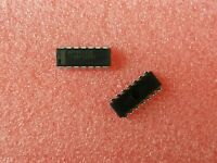10X NSC 74AC125PC BUFFER/DRIVER,SINGLE,4-BIT,AC-CMOS,DIP,14