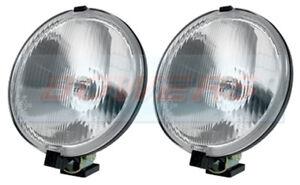 WIPAC LA1009 6 3/4 6.75 INCH SPOT LIGHTS SPOT LAMPS CLASSIC MINI LAND ROVER 4x4