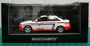 Minichamps 400 014490 Audi A4 Police Luxembourg 1/43
