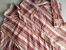 45RPM forty five RPM studio by R Japan orange striped shirt size 2 medium