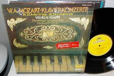 1976 MOZART KLAVIERKONZERTE KEMPFF BAMBERGER SYMPHONY DGG GERMAN IMPORT LP NM-