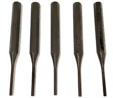 """1/8"""" Pin Punch 4-3/4"""" Long Industrial Grade 5 Pack"""