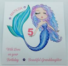 Personalised Birthday Card Granddaughter Daughter Niece 1st,2nd,3rd,4th,5th