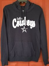NWT NEW Dallas Cowboys NFL Jacket Navy Blue & Glitter Hoodie Size Medium M