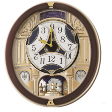 Seiko Musical Marionette Wall Clock- Qxm356b-new