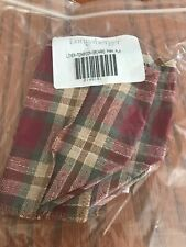 Longaberger Teaspoon Liner Orchard Park Plaid New