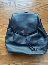 Kate Spade Mulberry Street Small Breezy Black Pebbled Leather Backpack