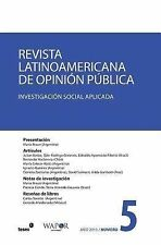 Revista Latinoamericana de Opinión Pública Nº5 by VV.AA. (2015, Paperback)