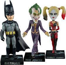 "BATMAN: Arkham City - Batman/Joker/Harley Quinn 7.5"" Bobble Head Set (3) by Ikon"