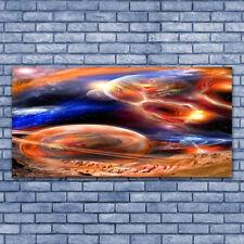 Leinwand-Bilder Wandbild Leinwandbild 140x70 Abstrakt Weltall