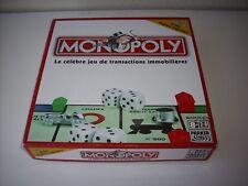 """(2) JEU DE SOCIETE """" MONOPOLY  """" AVEC REGLES RAPIDES PAR PARKER COMPLET EN BOITE"""