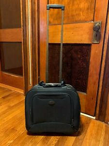 "Samsonite Wheeled Laptop Boarding Bag in Blue 17"" x 13"" x 7"""