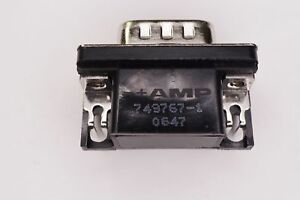 749767-1 Tyco D-Sub Connector 15 Pos Female 2.29mm Right Angle Through Hole