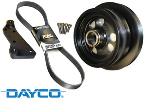 POWERBOND 28% O/D POWER PULLEY KIT FOR HSV CLUBSPORT R8 GEN-F LSA S/C 6.2L V8