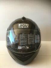 AGV MIGLIA 2 MOTORCYCLE HELMET BLACK LARGE, 0100-0846 MODULAR FLIP-UP NEW IN BOX