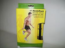 NordicTrack Deluxe Speed Jump Rope Deluxe Endurance Speed Adjustable up to 9'