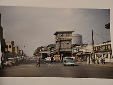 1957 Stillwell & Surf Ave. Subway Station Coney Island Brooklyn NYC Color Photo