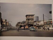 1957 Stillwell & Surf Ave. Subway Station Coney Island Brooklyn NYC Color Photo