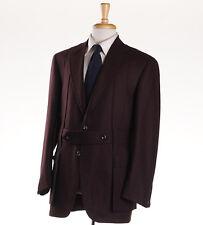 NWT $3795 OXXFORD HIGHEST QUALITY Burgundy Wool Norfolk Jacket 40 R Sport Coat