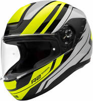 SCHUBERTH R2 ENFORCER YELLOW MOTORCYCLE HELMET  *HALF PRICE*-  MEDIUM
