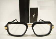6e9fea3e1a Cazal 6004 Eyeglasses Frames Color 001 Black Gold Authentic New