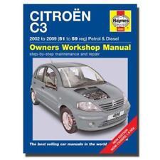 Manuels et carnets d'entretien d'automobiles pour Citroën
