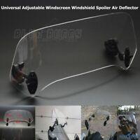 1x Adjustable Windscreen Windshield Spoiler Air Deflector For Honda BMW R1200GS