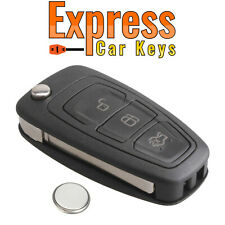 Ford 3 Button Remote Key Fob Case Service Repair Kit Fits Transit Connect Focus