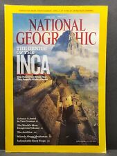 National Geographic April 2011 Genius of the Inca Frogs Crimea Crowns Volcano