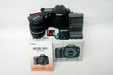 Canon EOS 30D 8.2MP Digital SLR Camera - Black, with Canon zoom lens 18-55