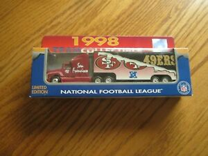 1998 Team Collectibles San Francisco 49ers NFL White Rose Collectibles Die Cast